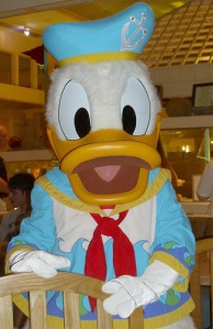 Donald Duck, photograph by Ross Hawkes